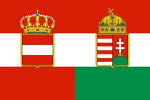 Flagge Österreich-Ungarns