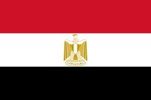 Ägyptische Fahne