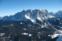 Zugspitze, Westansicht