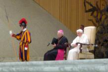 Audienzhalle, Papst Benedikt XVI.