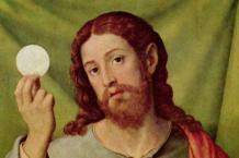 Christus mit der Eucharistie