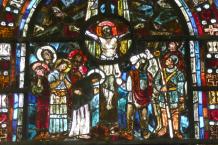 Kreuzigung Christi - Glaskunst