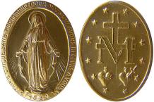 Foto: Wundertätige Medaille