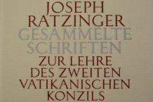 Foto: Joseph Ratzinger - Gesammelte Schriften, Vat. II