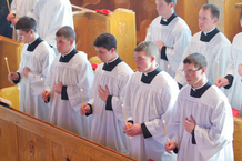 Einkleidung bei der Piusbruderschaft