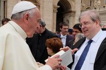 Papst Franziskus und Ulrich Nersinger