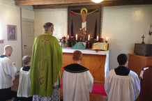 Alte Messe in Klitborg (DK)