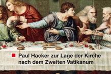 """Bildquelle: Reproduktion des """"Letzten Abendmahles"""" von Leonardo da Vinci, die sich im Nachlass Paul Hackers befindet"""