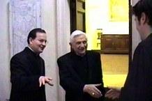Gero Weishaupt und Joseph Ratzinger